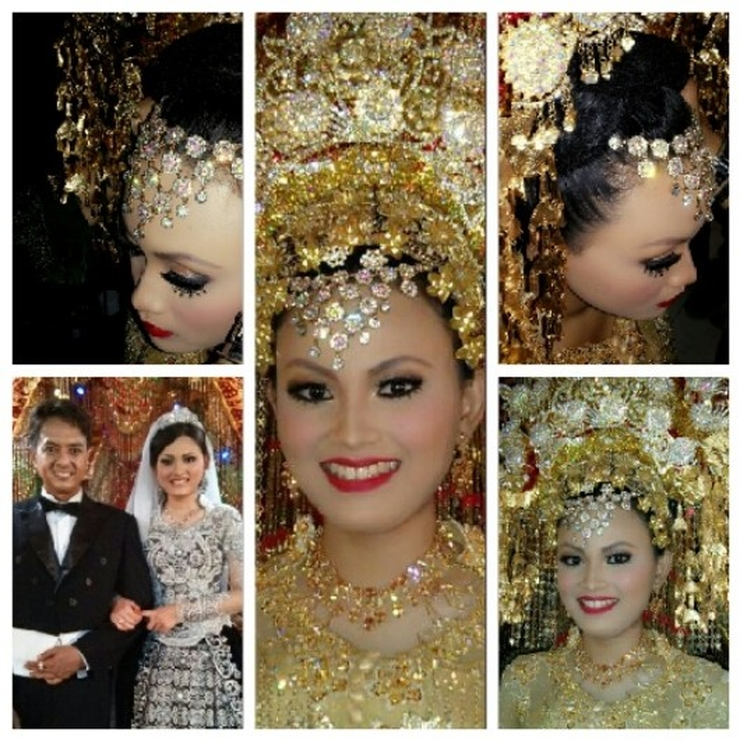 Anggi and Sasha Minang Wedding