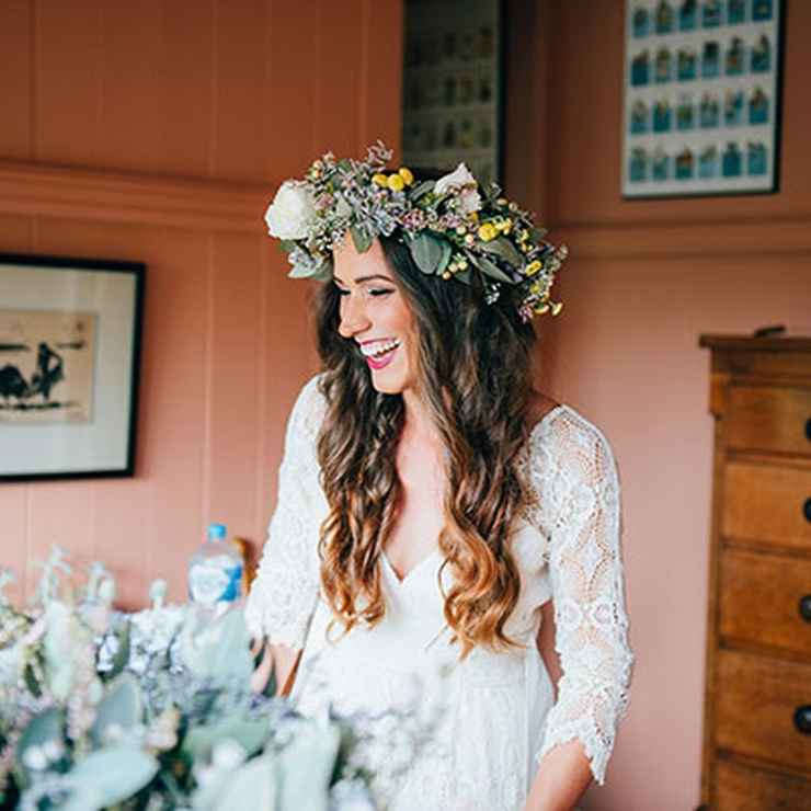 "HELLO MAY! features ~ ""WEDFORD ~ Tj & BILLYs Wedding @ Nimbin"" Images by Graham Murray Photography"