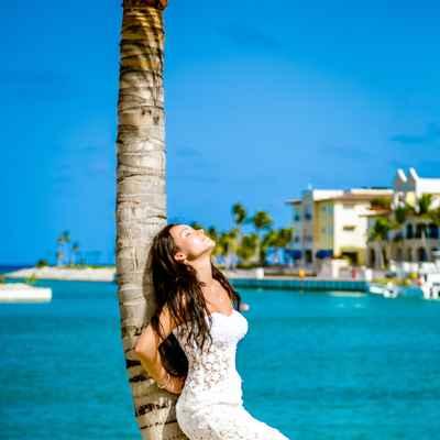Overseas straight wedding dresses