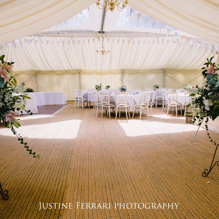 Suffolk Marquee Wedding (photos by Justine Ferrari)