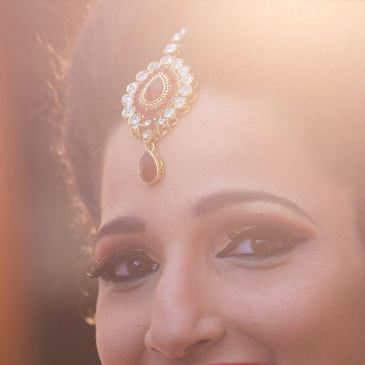 Bridal makeup of Suchi for her wedding
