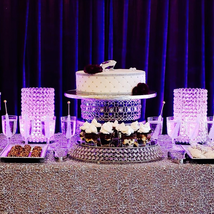 Backdrops, dessert tables