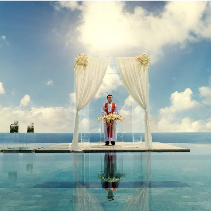The Sky Mirror Wedding Blessing - Bali