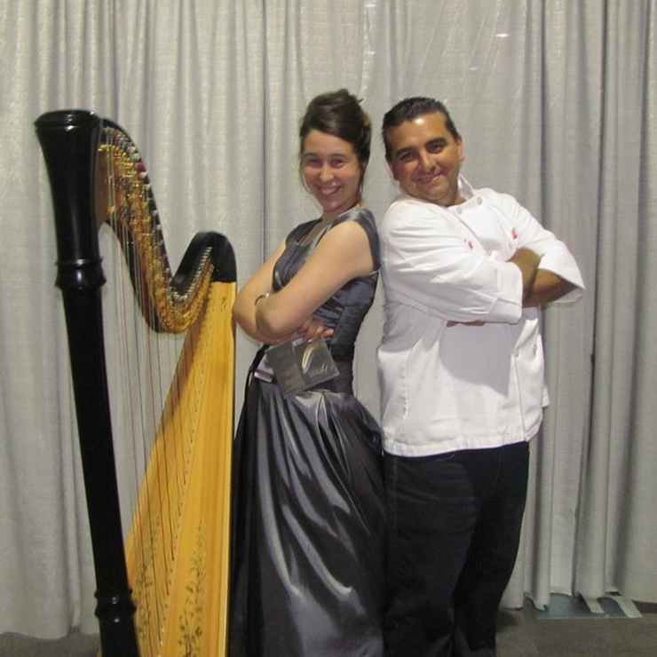 On Stage with Buddy Valastro- The Cake Boss!