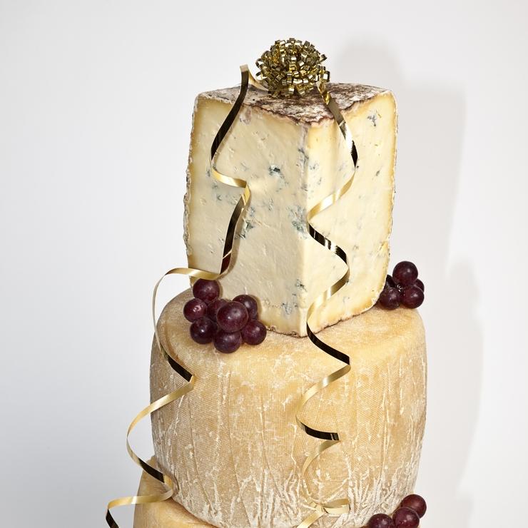 Brinkworth Dairy Cheese Wedding Cake
