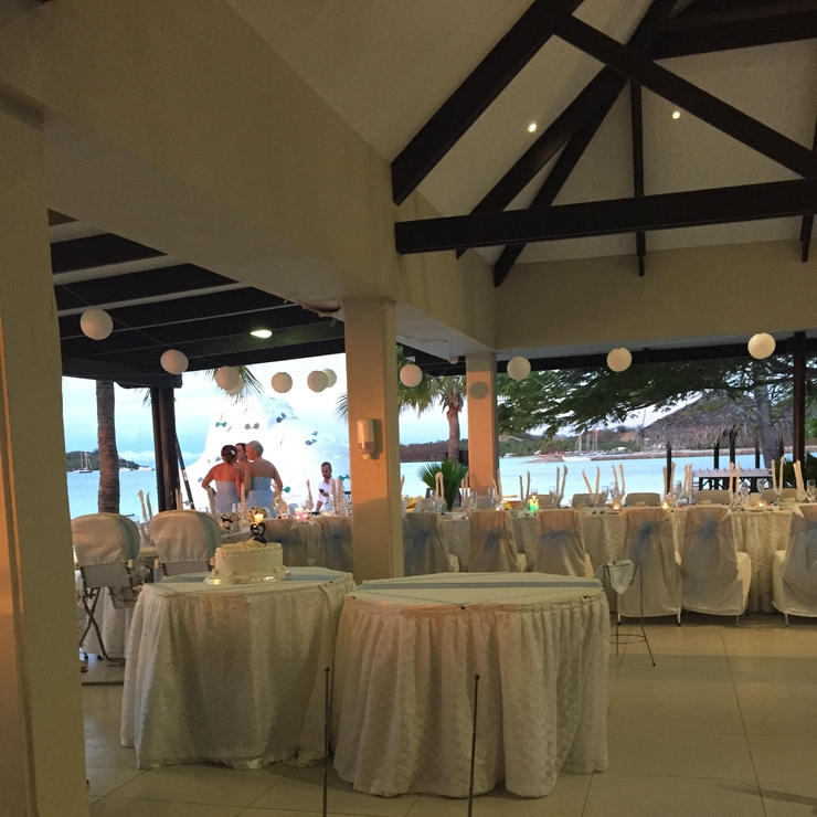 Lan Wedding at Plantation Island Resort