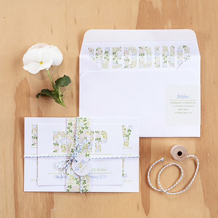 Something Floral - Boutique Stationery Suite