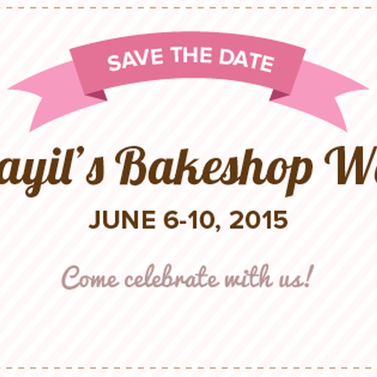 2nd Year Anniversary & Cafe Grand Opening by Khayil Bakeshop