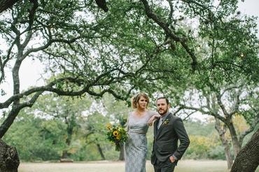 Outdoor black closed wedding dresses