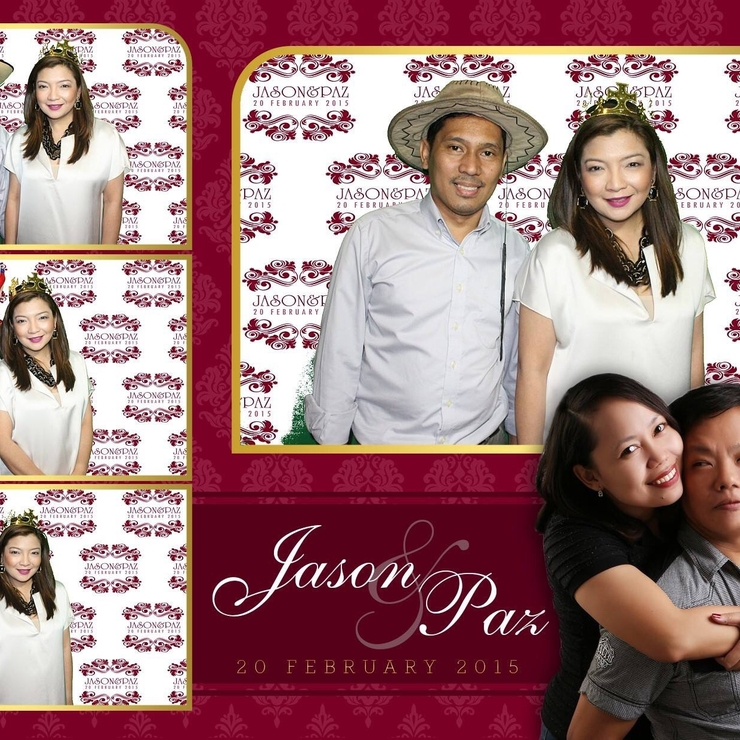 Jason & Paz's wedding