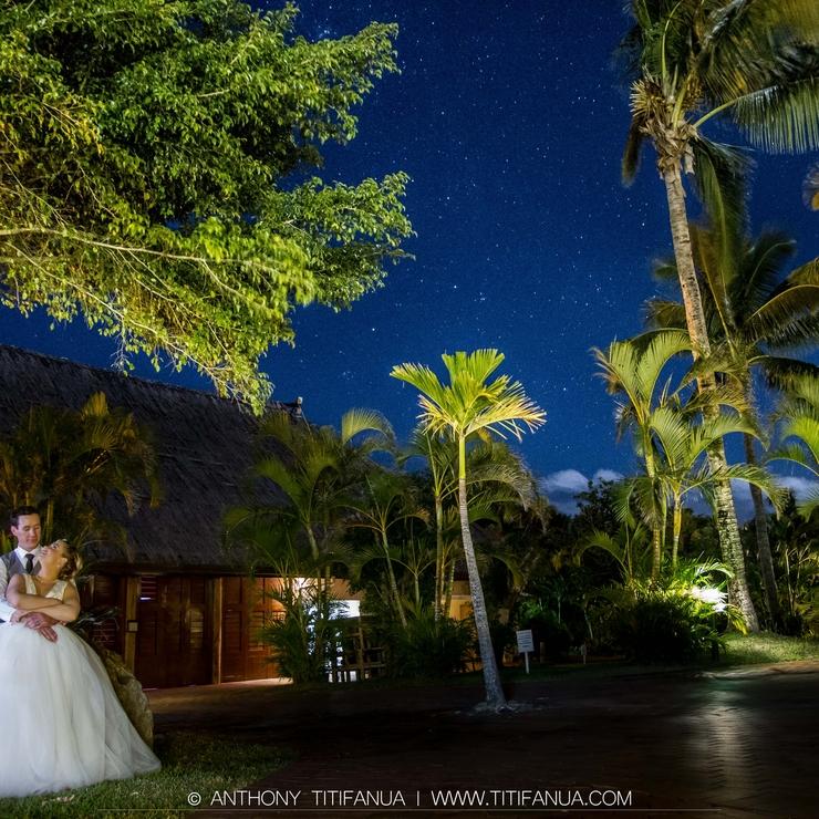 Cara and Todd's Destination Wedding Fiji