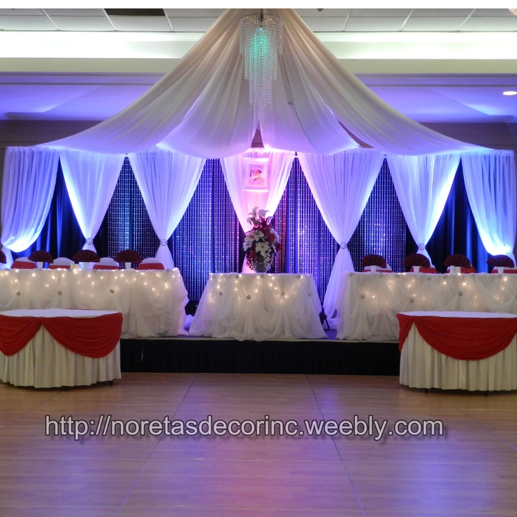 Weddings & Events decoration, backdrops