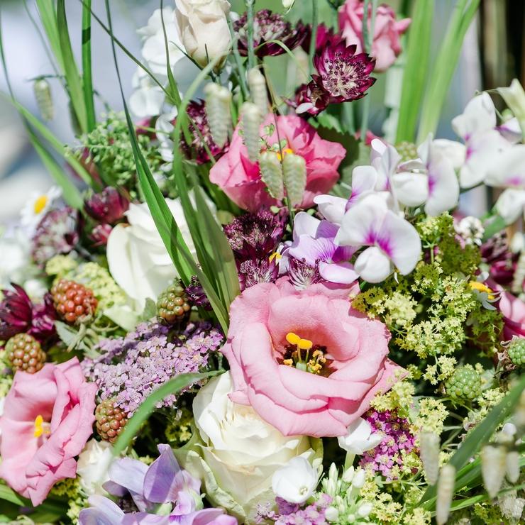 """Individueller Brautschmuck aus dem Hause """"FloraGarten-ein Stückchen Eden"""""""