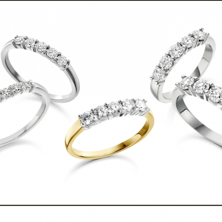 Handcrafted Eternity Rings