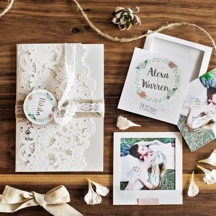 Alexa & Warren Wedding Stationery