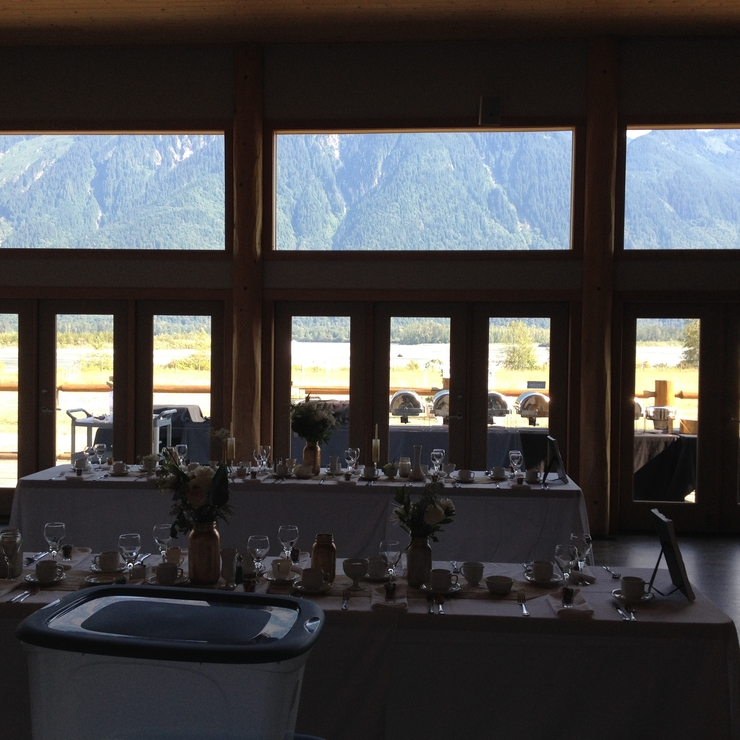 Fraser River Lodge Aug. 2015 - Simple DJ Set-up