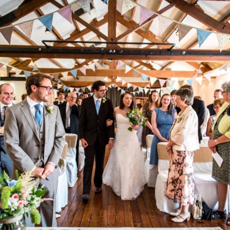 The Brindley room ceremonies