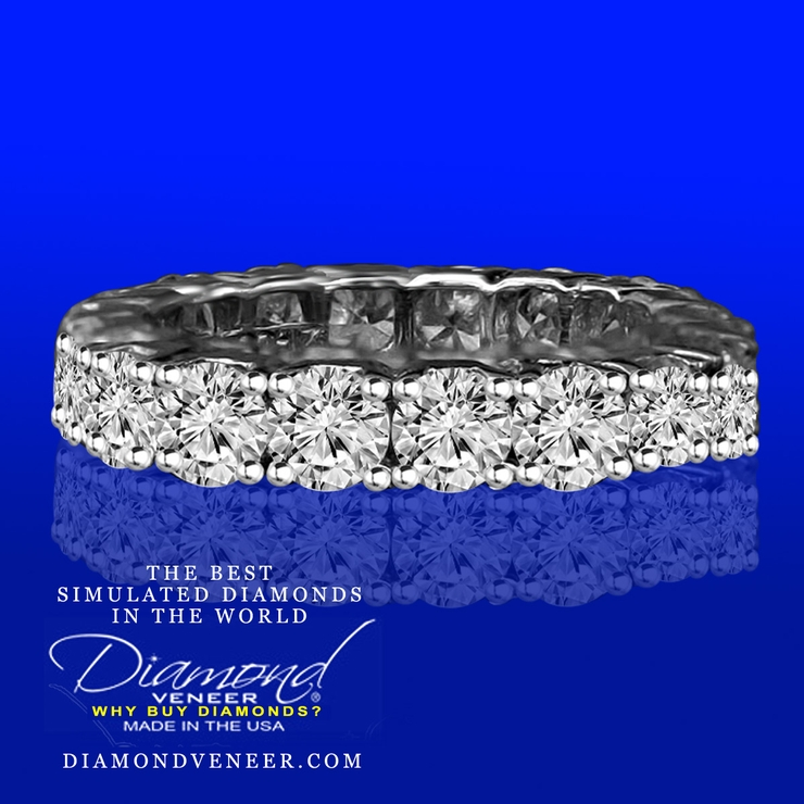 The Best Simulated Diamond Wedding Jewelry in the World are Diamond Veneer