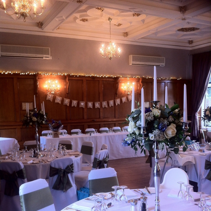 Venue styling & floristry at the Maynard Hotel