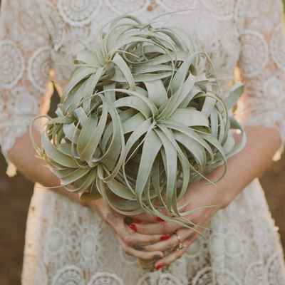 Rustic summer alternative wedding bouquet