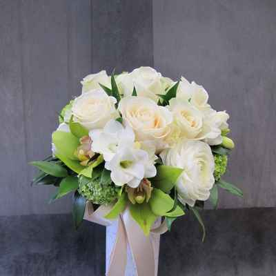 Friezes wedding bouquet