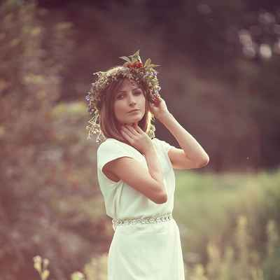 Rustic summer straight wedding dresses