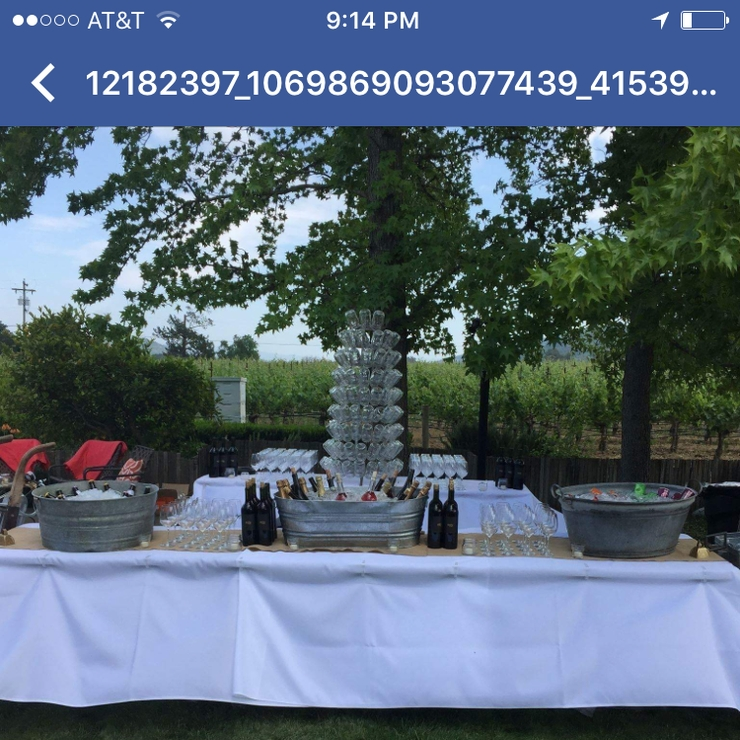 Private Estate Wedding Bar