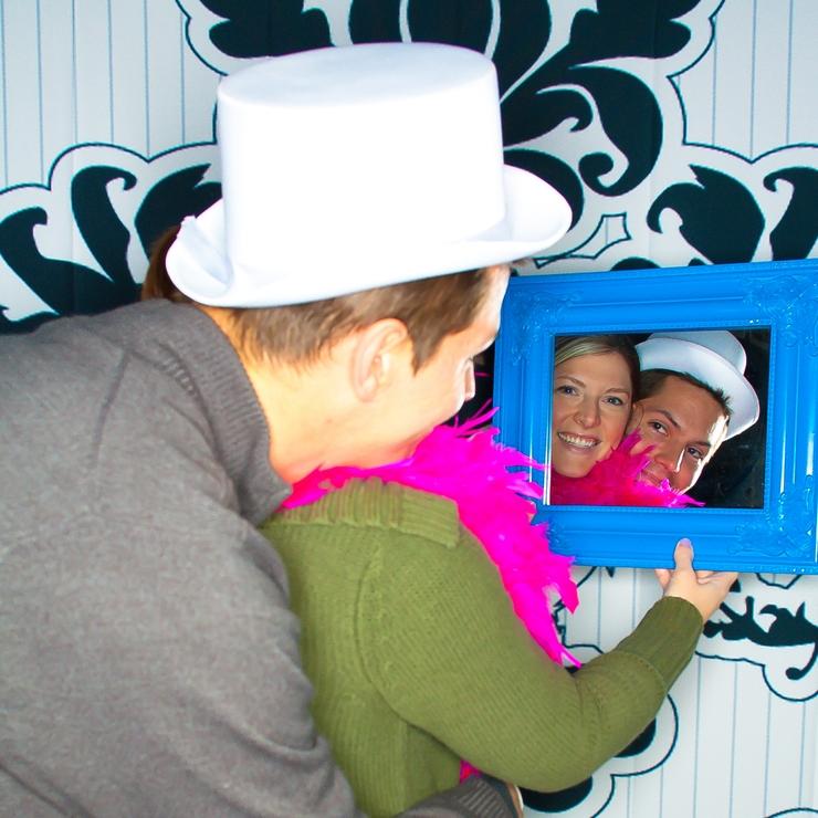 Custom Photobooth images