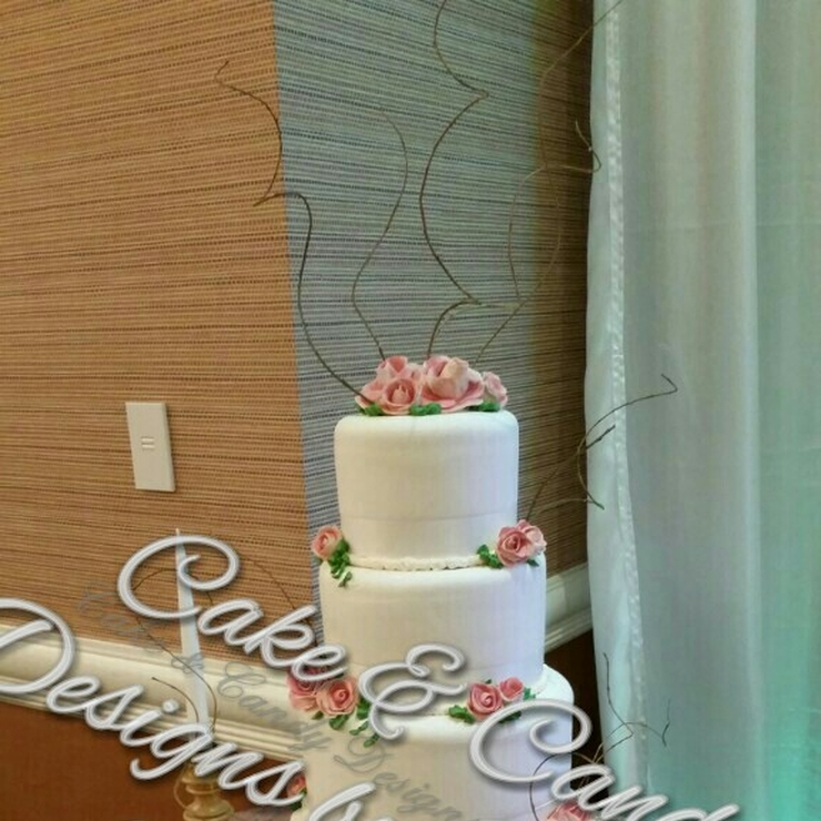 wedding cakes with whip cream and buttercream  icing