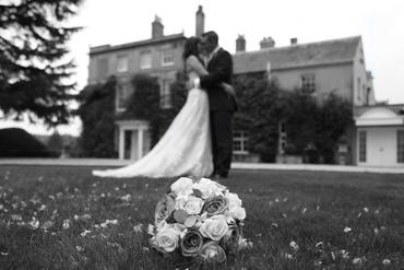 Rose wedding bouquet