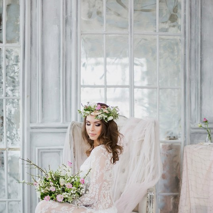 "Bridal boudoir ""Sea Spring"""