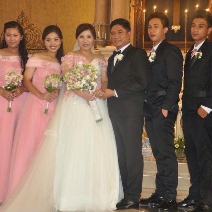 A Cherry Blossom themed wedding