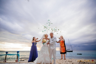 Beach real weddings