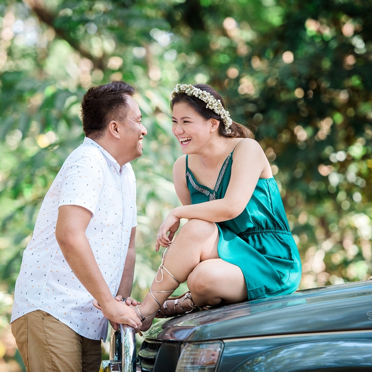 Rafael & Reena - Engagement