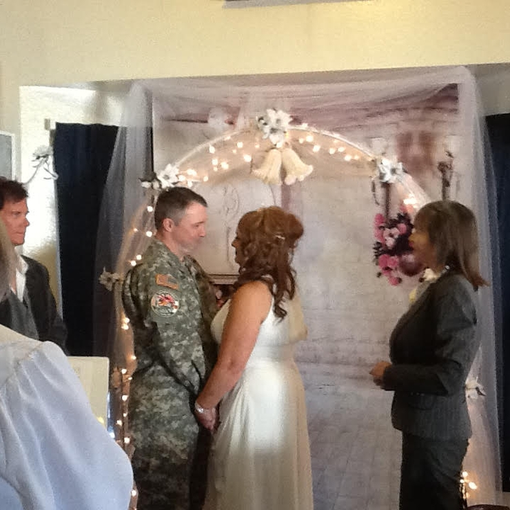 Military married before deploying