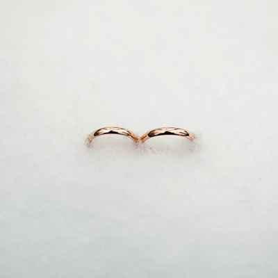 Winter wedding rings