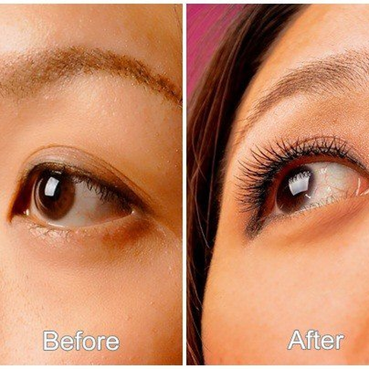pink passion eyelashes extension