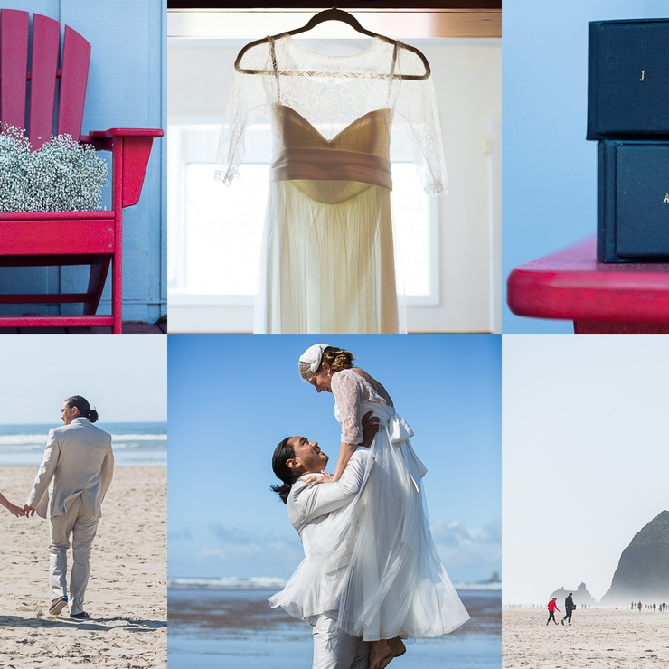 Amy and Jason's Coastal Wedding