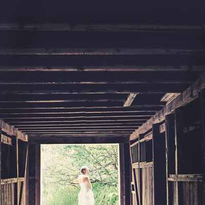 Rustic white long wedding dresses