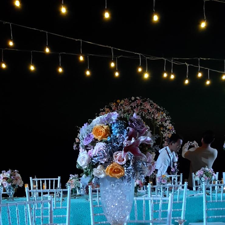 Intan + Olaf Wedding Sanctus Villa