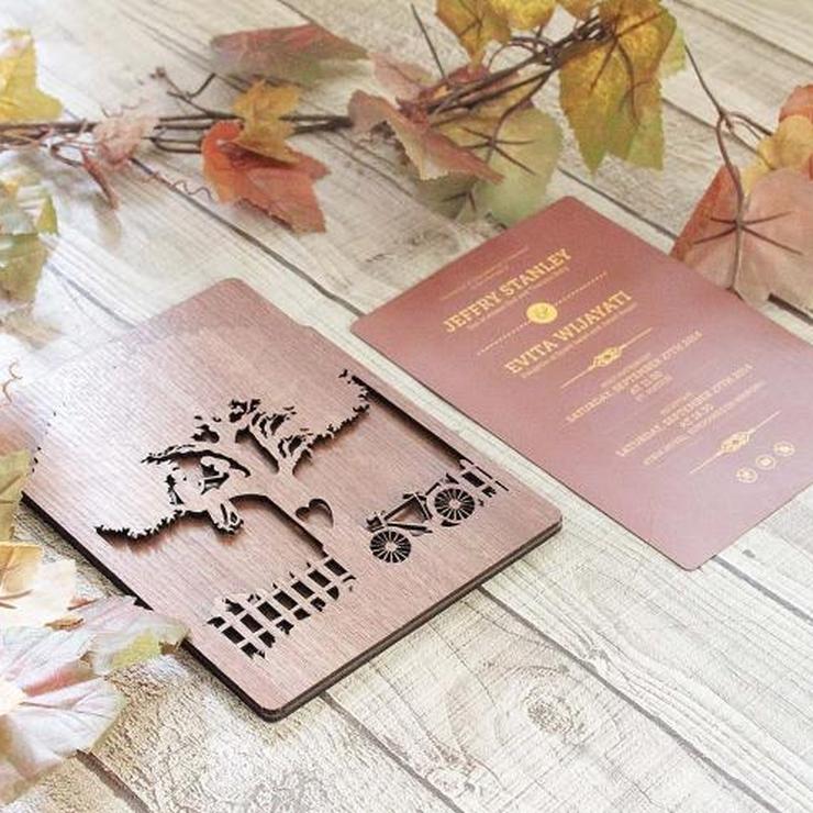 Wooden Lasercut & Engrave