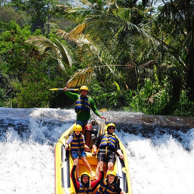 Bali Rafting at Telaga Waja River