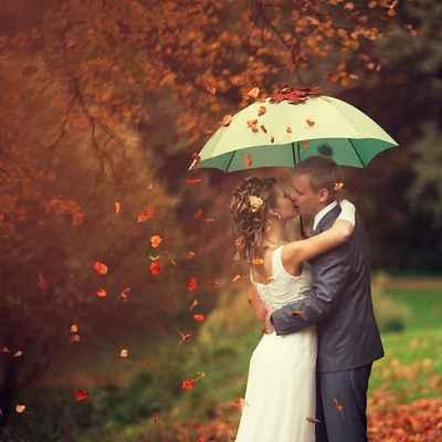 Autumn photo session decor