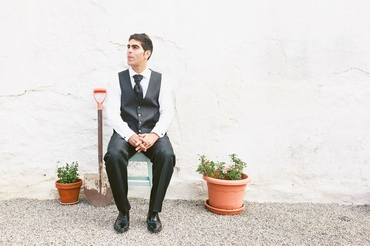 Black wedding photo session ideas