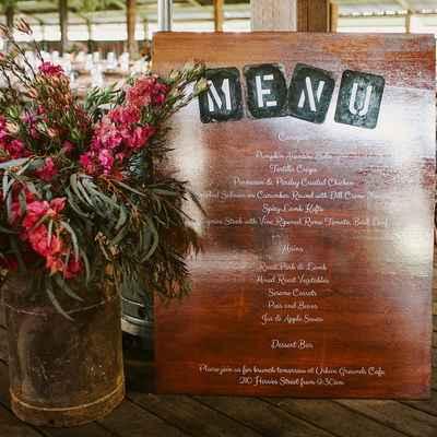 Brown overseas wedding reception decor