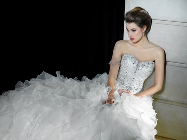 Open wedding dresses