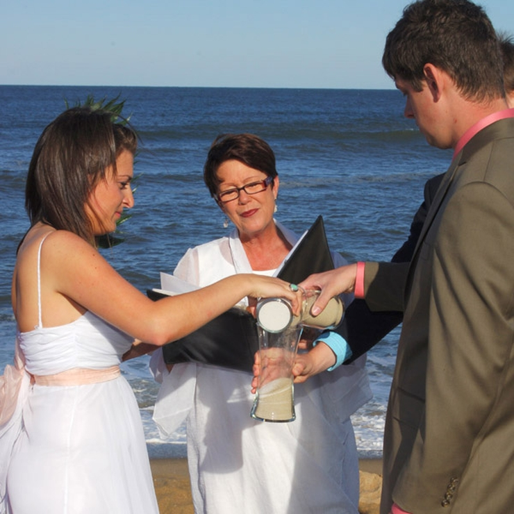 Outer Banks Beach Wedding Photos