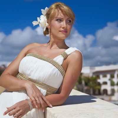 Mediterranean maternity wedding dresses