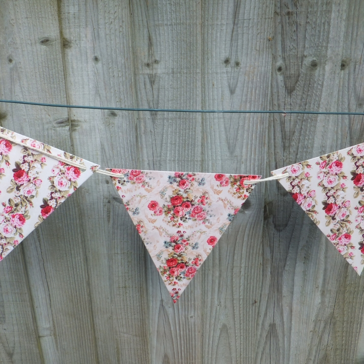 Chintzy paper bunting
