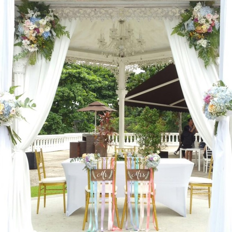 Watercolour Garden Wedding